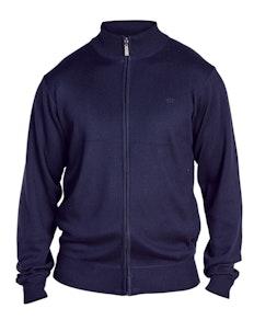 D555 Buddy Full Zip Sweater Navy