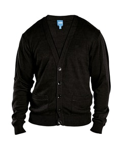 D555 Walworth Buttoned Cardigan Black