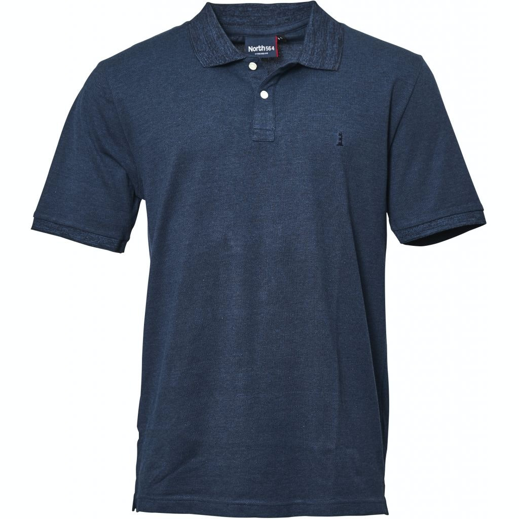 Replika Two Tone Polo Blue Tall