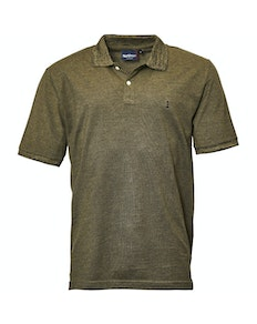 Replika Two Tone Polo Green Tall