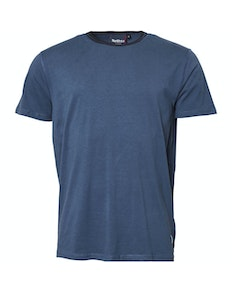 Replika Contrast Collar T-Shirt Blue Tall