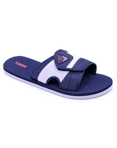 D555 Slider With Velcro Strap Navy