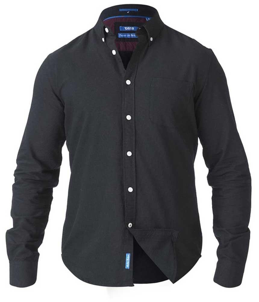 D555 Keenan Oxford Shirt Black Tall