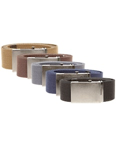 Duke Webbing Canvas Belt - Various colors