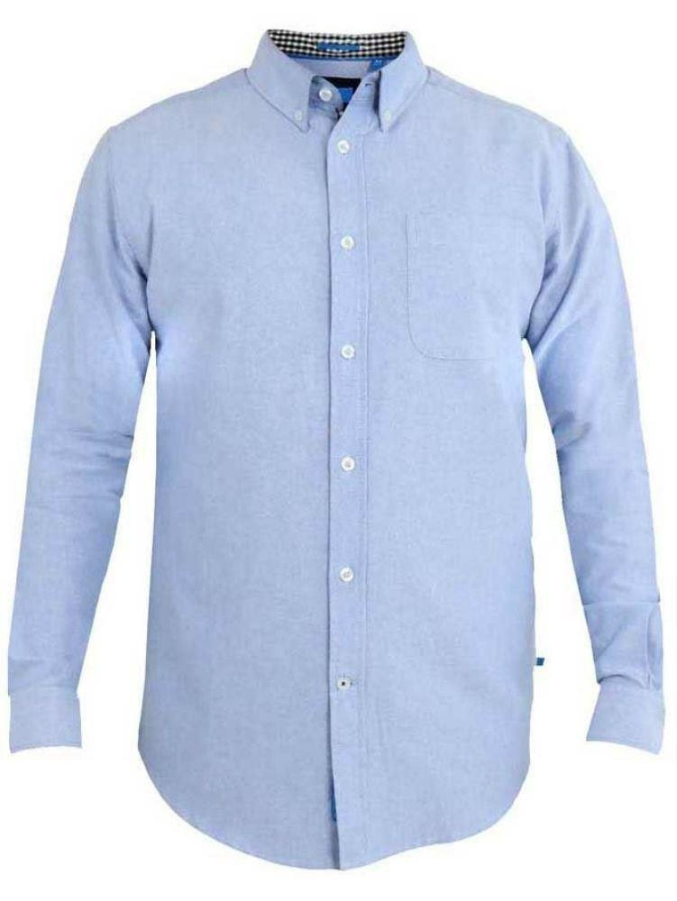 D555 Keenan Oxford Shirt Sky Blue Tall