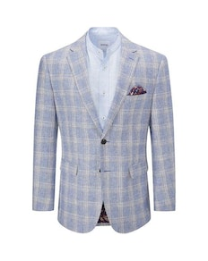 Skopes Soncini Check Blazer Blue/Rust