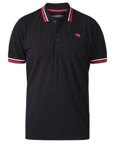 D555 Allante 1 Pique Polo Shirt Black