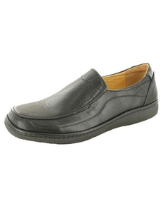 Dr Keller Andrew Black Slip On Shoe