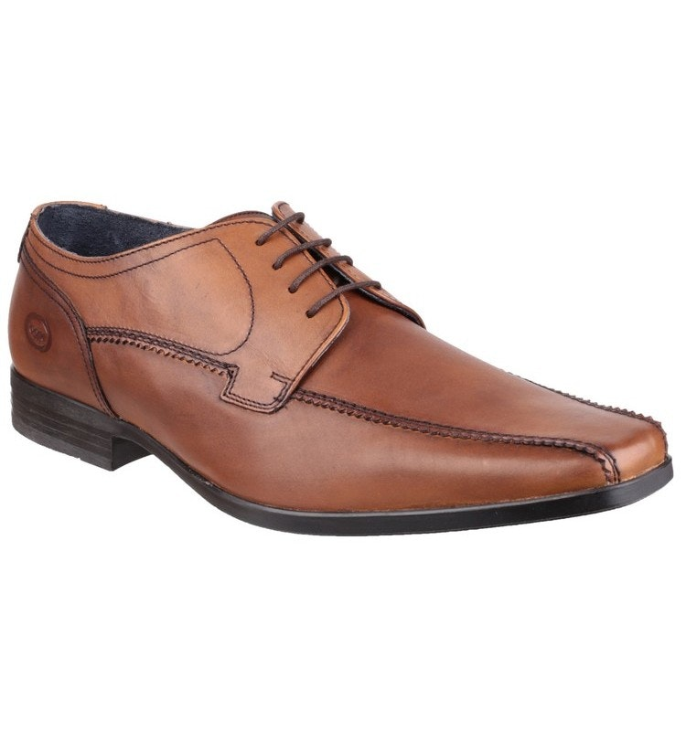 Base London Lytham Excel Waxy Brown Shoes