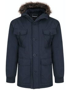 Bigdude Multi Pocket Parka Navy