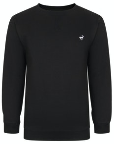 Bigdude Signature Jumper Black Tall