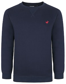 Bigdude Signature Jumper Navy Tall