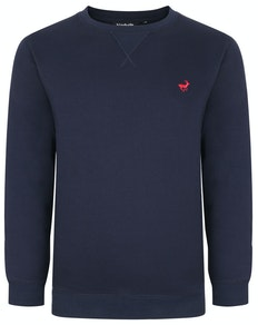 Bigdude Signature Jumper Navy