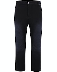 Bigdude Whispering Stretch Jeans Black