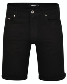 Bigdude Stretch Denim Shorts Black