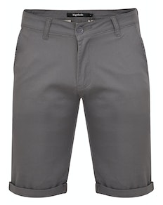 Bigdude Stretch Chino Shorts Grey