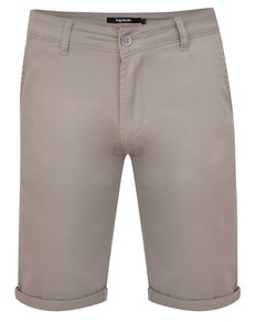 Bigdude Stretch Chino Shorts Stone
