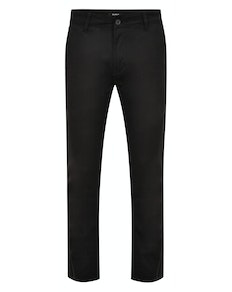 Bigdude Stretch Chino Trousers Black