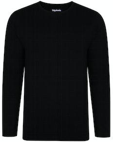 Bigdude Long Sleeve T-Shirt Black