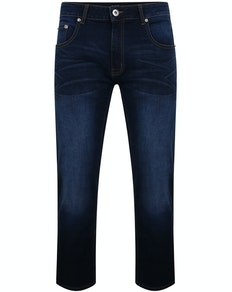 Bigdude Lightweight Stretch Jeans Dark Wash