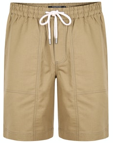 Bigdude Rip Stop Cotton Shorts Khaki
