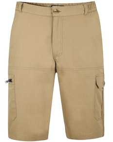 Bigdude Rip Stop Cargo Shorts Khaki