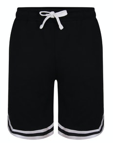 Bigdude Twin Stripe Shorts Black