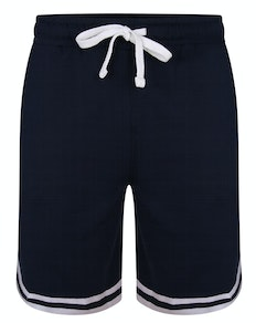 Bigdude Twin Stripe Shorts Navy