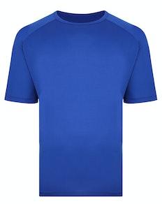 Bigdude Raglan Stretch Performance T-Shirt Royal Blue