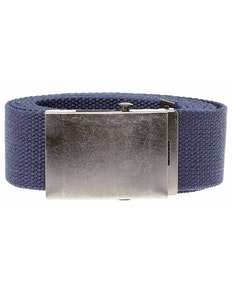 Bigdude Woven Canvas Belt Navy