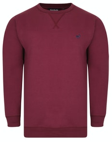 Bigdude Signature Jumper Burgundy Tall