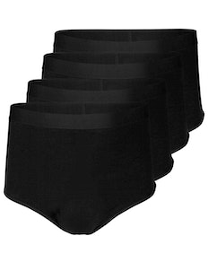 Bigdude 4 Pack Briefs Black