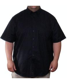 Fruit of the Loom Black Oxford Shirt