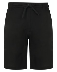 Bigdude Linen Shorts Black