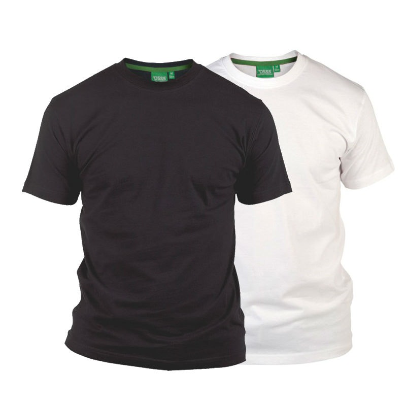 D555 Fenton Black and White Multipack T-Shirts