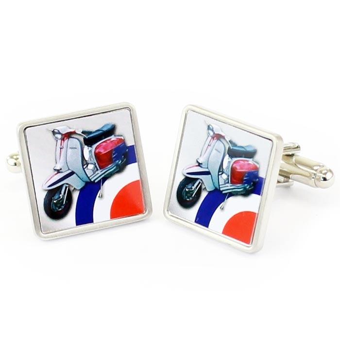 Sophos Lambretta Print Cufflinks