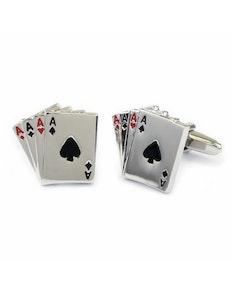 Sophos Four Aces Cufflinks