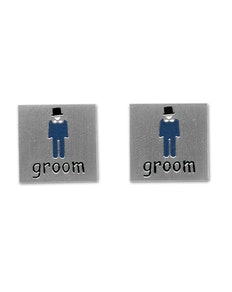 Sophos Groom Wedding Cufflinks