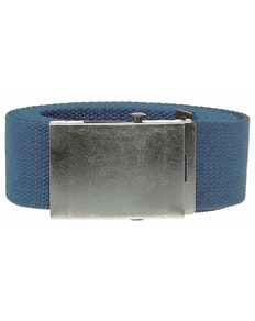 Bigdude Woven Canvas Belt Blue