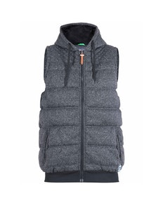 D555 Colin Padded Gilet Charcoal