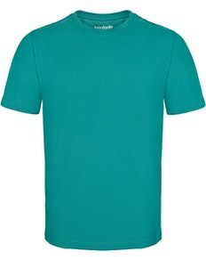 Bigdude Plain Crew Neck T-Shirt Turquoise Tall