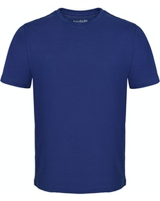 Bigdude Plain Crew Neck T-Shirt Violet Tall
