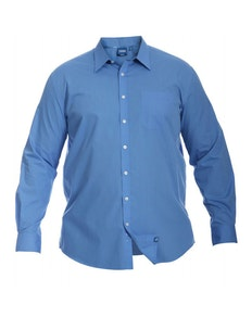 D555 Blue Long Sleeve Shirt