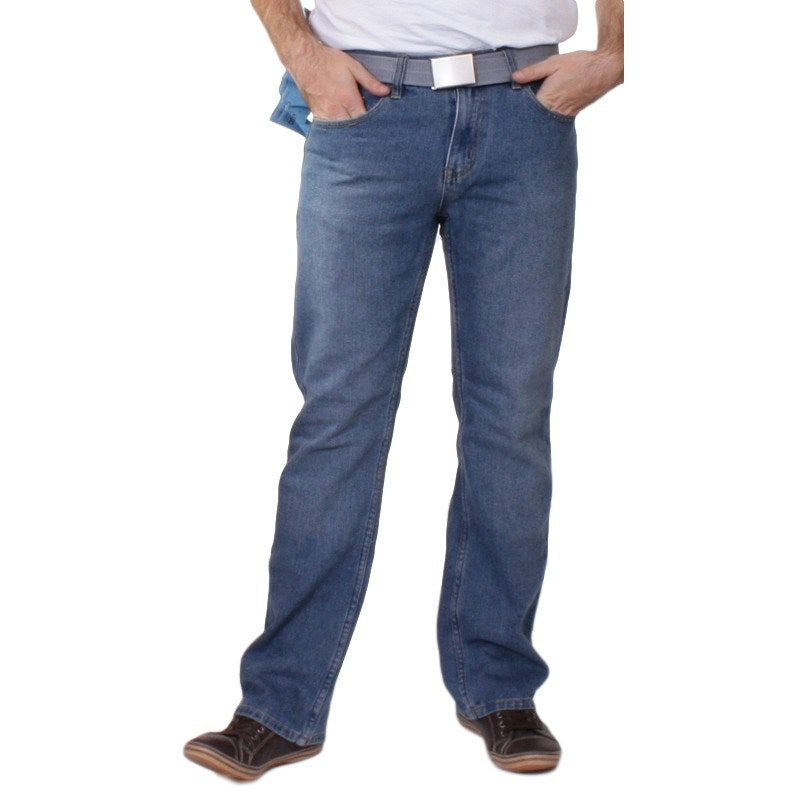 Duke Straight leg Jeans Light Blue Denim