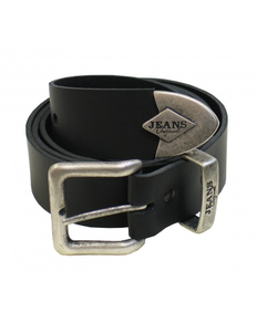 Black Heavy Duty Jeans Belt