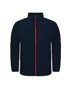 Bigdude Contrast Zip Fleece Jacket Navy