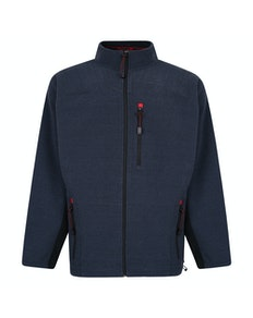 Espionage Bonded Rib Fleece Jacket Navy