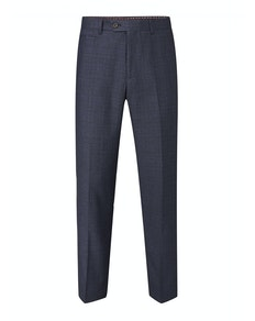 Skopes McGrath Check Trousers Navy
