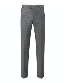 Skopes Warley Check Trousers Grey/Blue