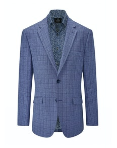 Skopes Collina Check Blazer Blue/Navy
